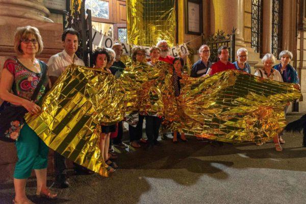 Sea Watch. Sit-in notturno anche a Roma, solidarietà e protesta