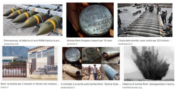 Armi prodotte in Italia e riconversione alla pace