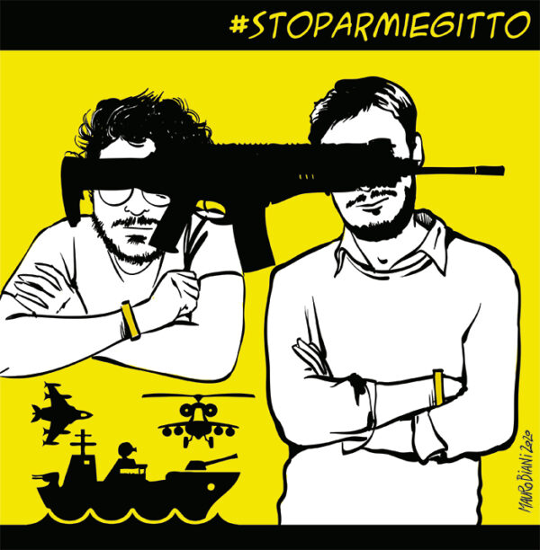 """19 dicembre: mobilitazione per Giulio e Patrick """"Stop armi Egitto"""""""